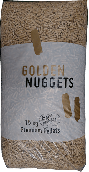 pellet golden nuggets certificato
